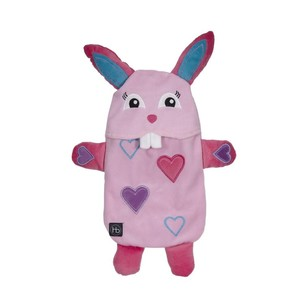 Ladelle Hot Botts Bunny Heart Hot Water Bottle & Cover
