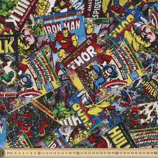 Marvel Comic Book Fabric