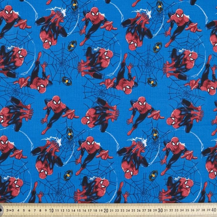 Marvel Spider-Man Spiders & Webs Fabric