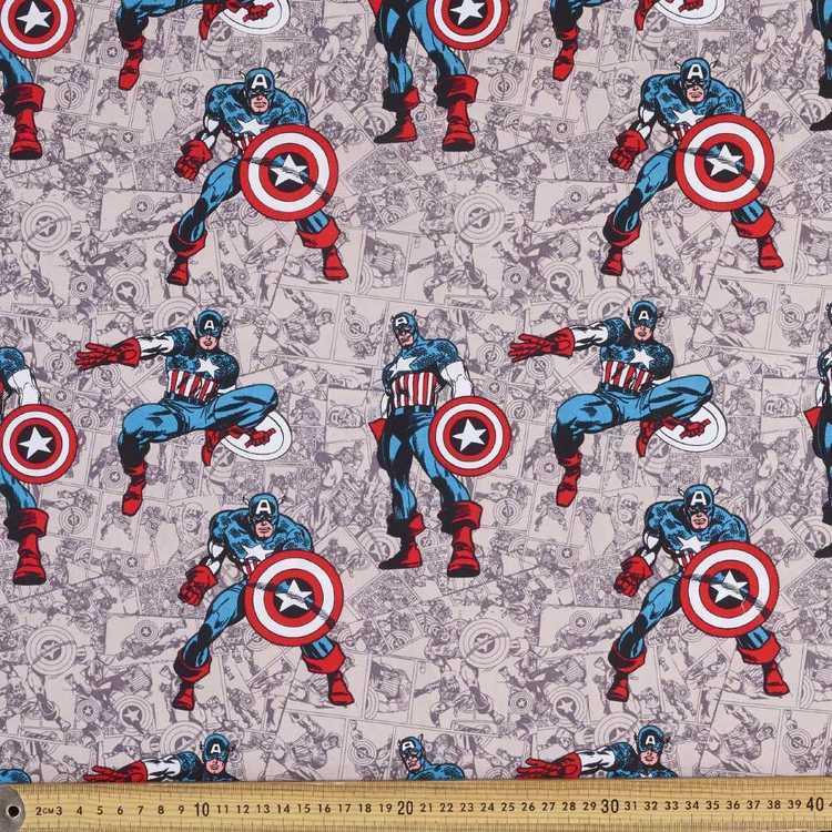 Marvel Comics Printed Poplin