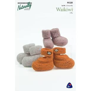 Naturally Waikiwi 4 Ply N1220 Socks