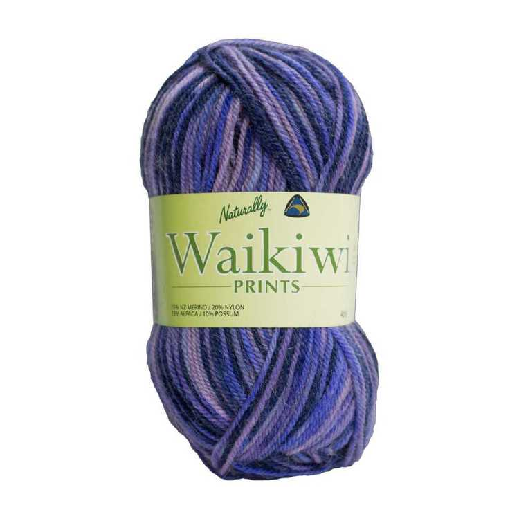 Naturally Waikiwi Prints 4 Ply Yarn 50 g