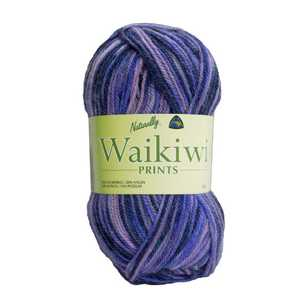 Naturally Waikiwi Prints 4 Ply Yarn 50 g