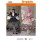 Simplicity 1300 Misses' Costume Overdress & Skirt
