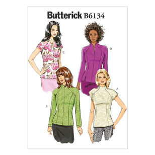 Butterick Pattern B6134 Misses' Top