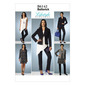 Butterick B6142 Misses' Jacket Vest Tunic Dress & Pants
