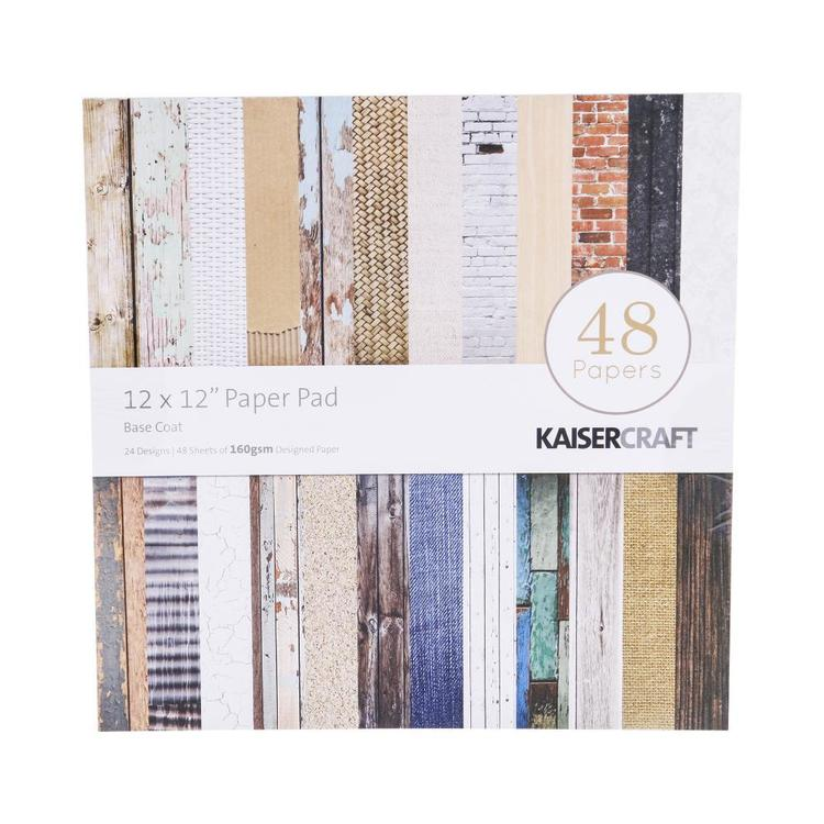 Kaisercraft Basecoat Paper Pad