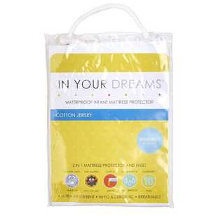 In Your Dreams Basinette Fitted Mattress Protector