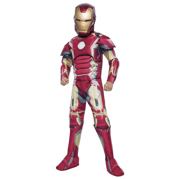 Marvel Avengers Deluxe Iron Man Costume Red 6 - 8 Years