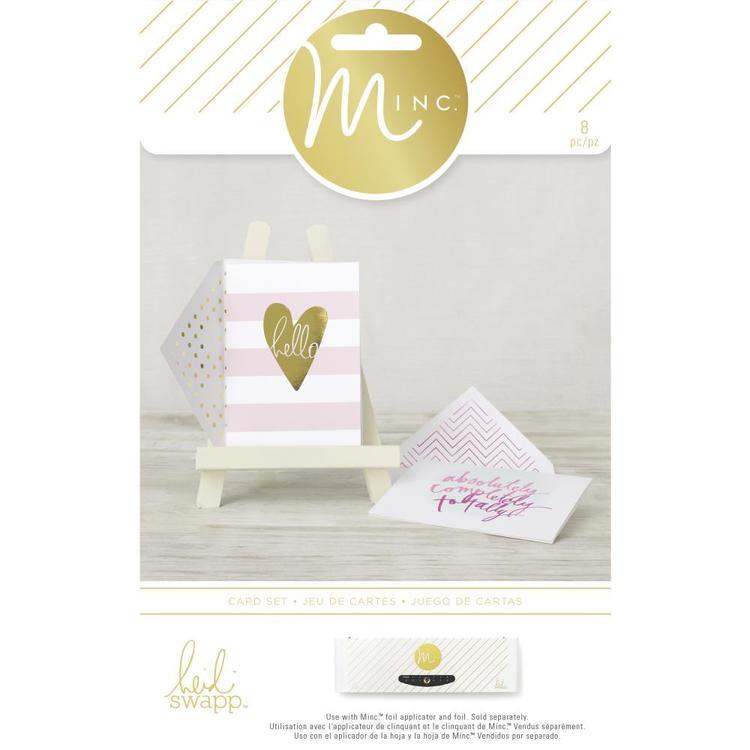 Heidi Swapp Heidi Swapp Minc Hello Stripes Card Set