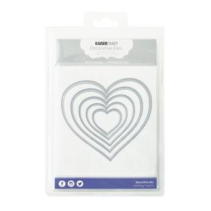 Kaisercraft Nesting Hearts Decorative Dies