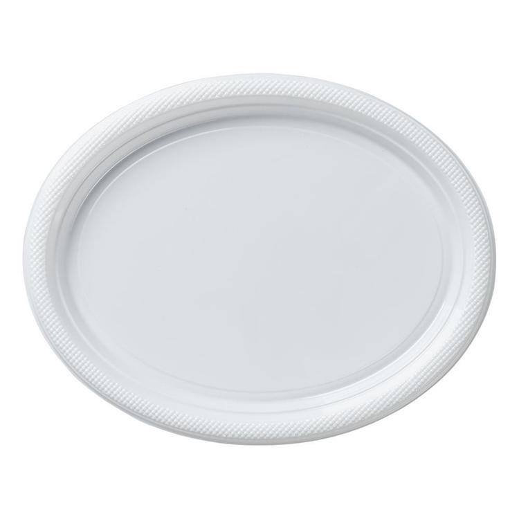 Z-Star Plastic Oval Plates