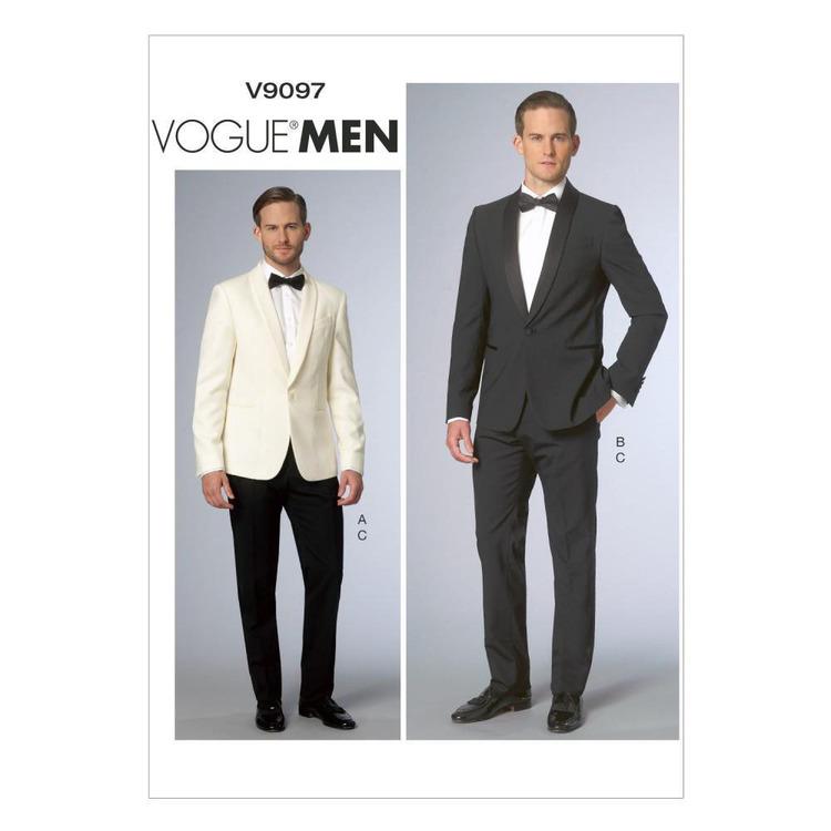 Vogue Pattern V9097 Men's Jacket & Pants