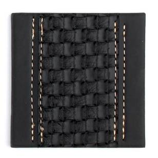 Ladelle Weave Faux Leather Dine Coasters
