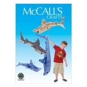 McCalls M7103 Stuffed Sharks