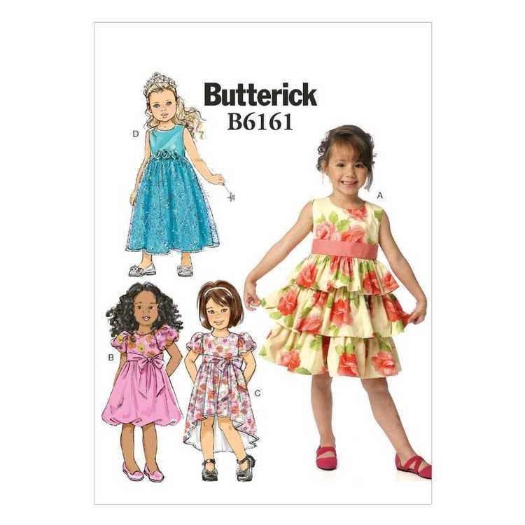 Butterick Pattern B6161 Girls' Dress