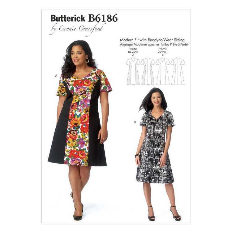 Butterick Pattern B6186 Women's  Dress