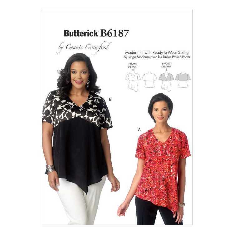 Butterick Pattern B6187 Women's  Top