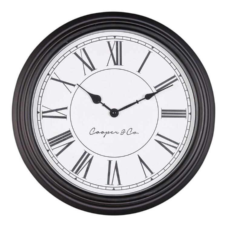 Cooper & Co 40 cm Antique Wall Clock