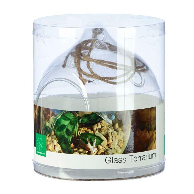 Round 12 cm Glass Terrarium