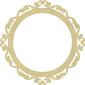 KAISERdecor Oval Victorian Frame Natural Large