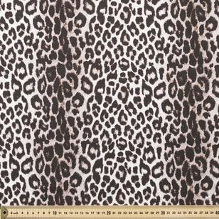 Snow Leopard Fabric