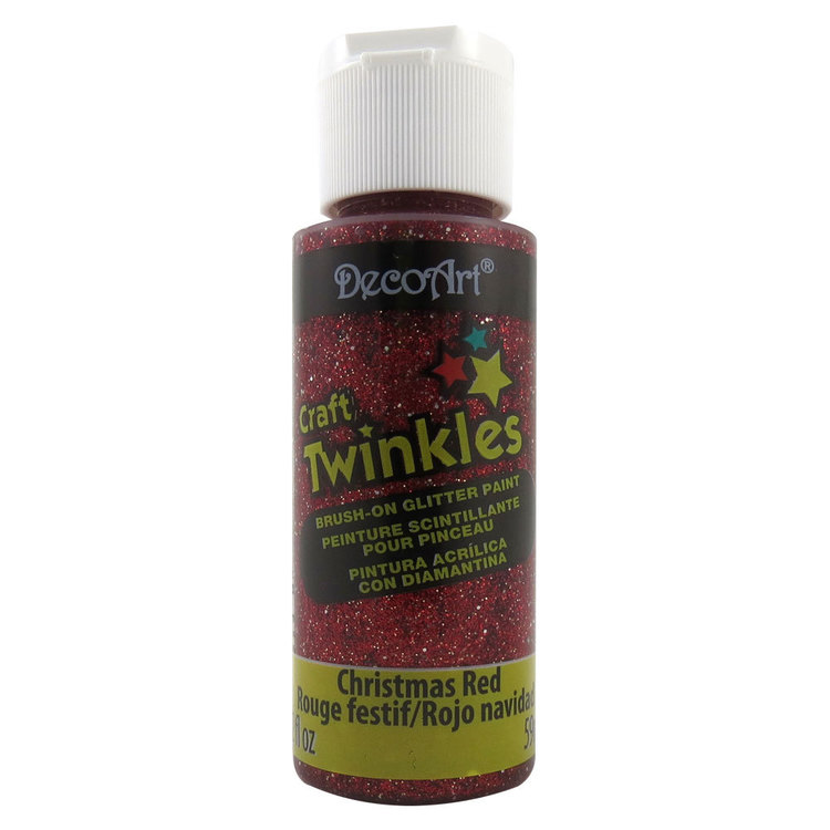 DecoArt Craft Twinkles Glitter Paint