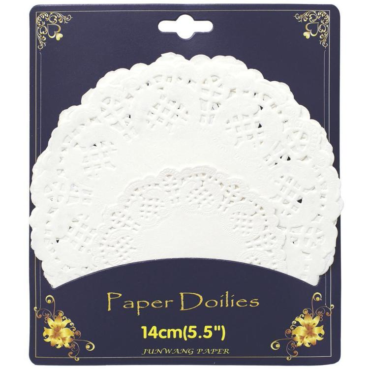 American Crafts DIY Shop 2 Doilies White