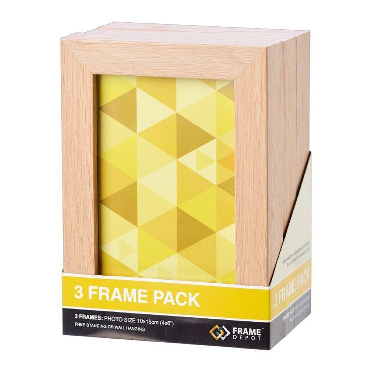 Frame Depot 10 x 15 cm Triple Frame Pack