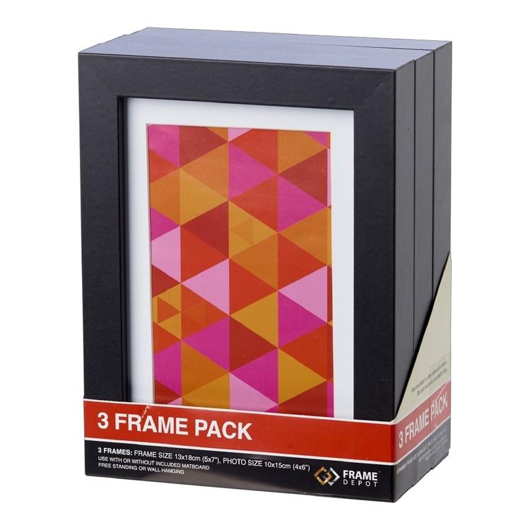 Frame Depot 13 x 18 cm Triple Frame Pack