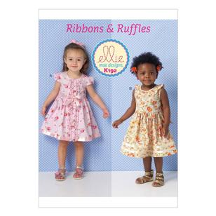 Kwik Sew Pattern K0192 Toddlers' Dresses