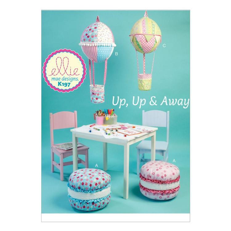 Kwik Sew K0197 Cushion & Hot Air Balloon Decorations  One Size