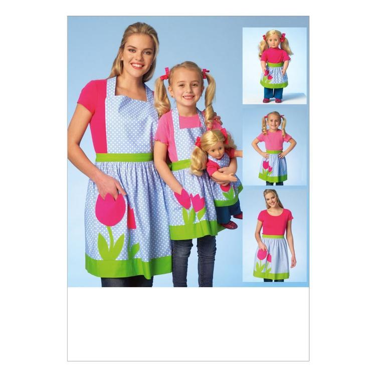 Kwik Sew Pattern K4105 Girls' Aprons