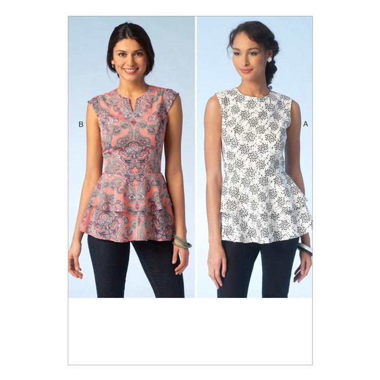 Kwik Sew Pattern K4112 Misses' Tops