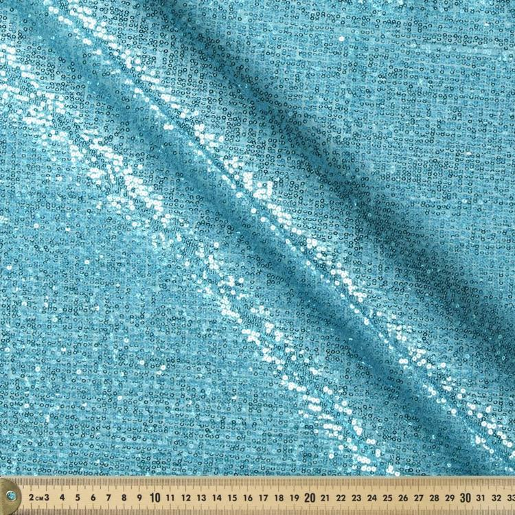 Miami Pleated Sequin Fabric
