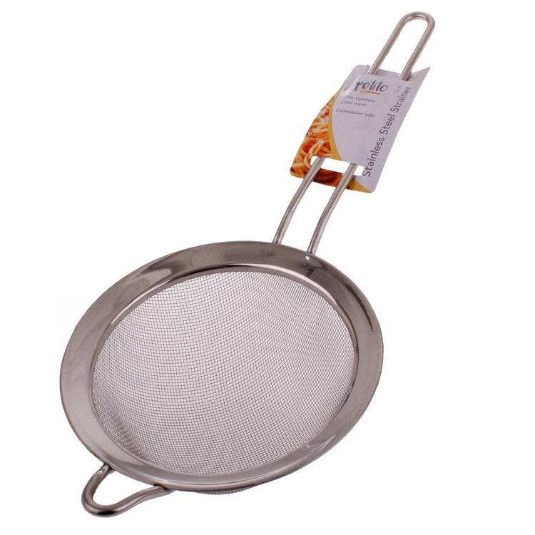 D.Line Stainless Steel Small Mesh Strainer