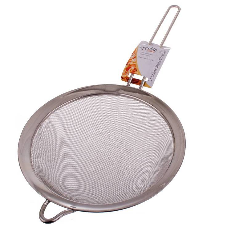 D.Line Stainless Steel Large Mesh Strainer
