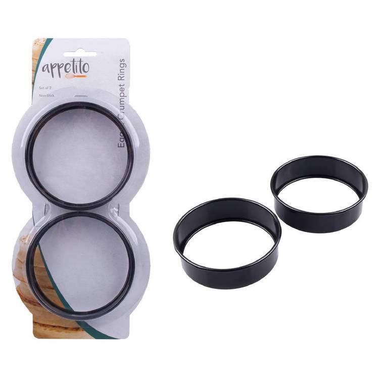 D.Line Non-Stick Crumpet Rings Set