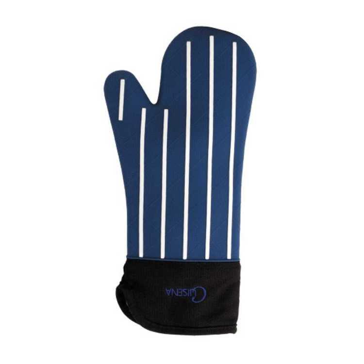 Cuisena Butcher Stripe Silicone Oven Glove