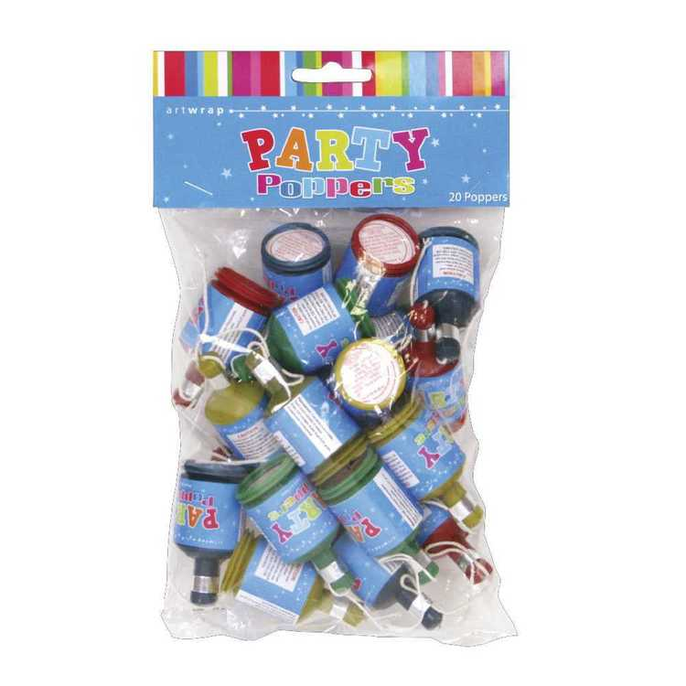 Artwrap Poppers 20 Pack