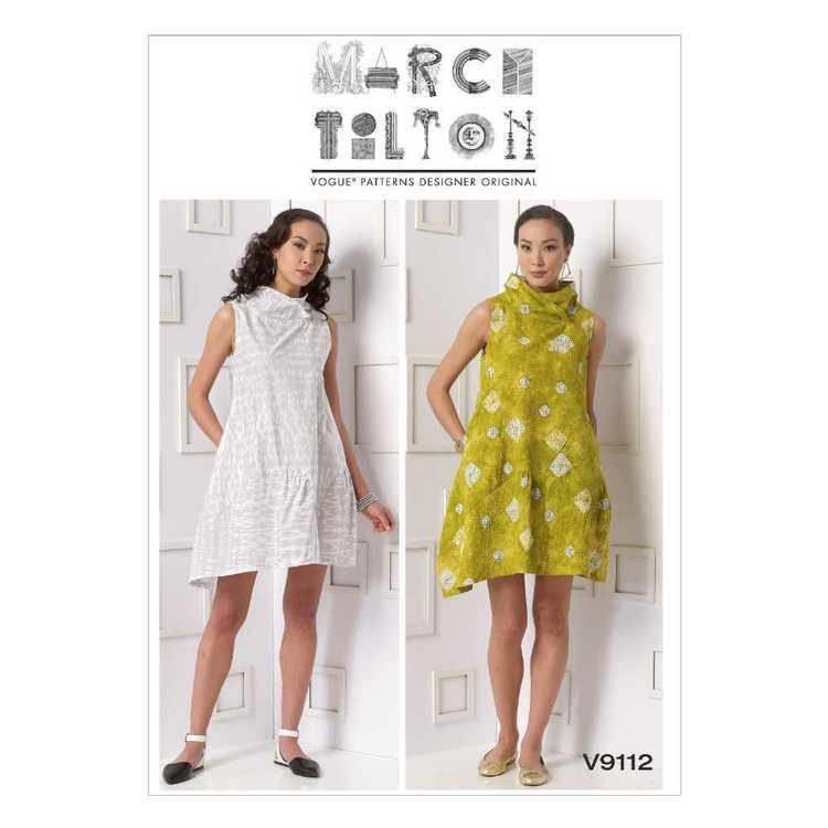 Vogue Pattern V9112 Misses' Dress