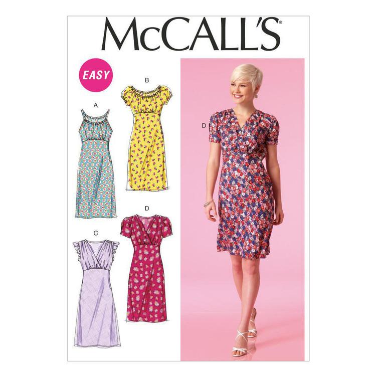 McCall's Pattern M7116 Misses' Dresses