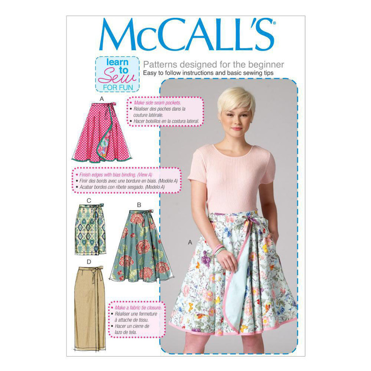 McCalls M7129 Misses' Skirts