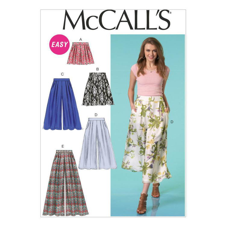 McCall's Pattern M7131 Misses' Shorts & Pants