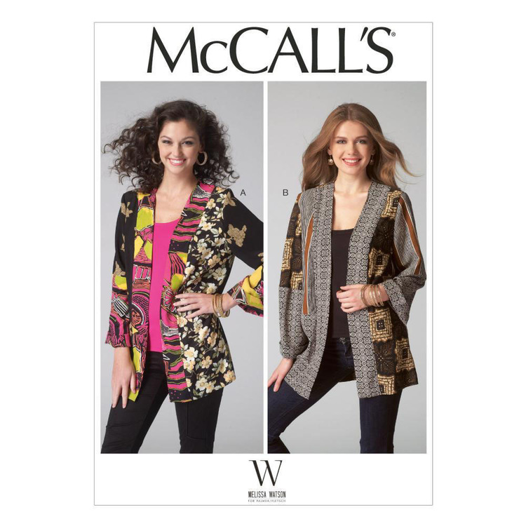 McCall's Pattern M7132 Misses' Jackets