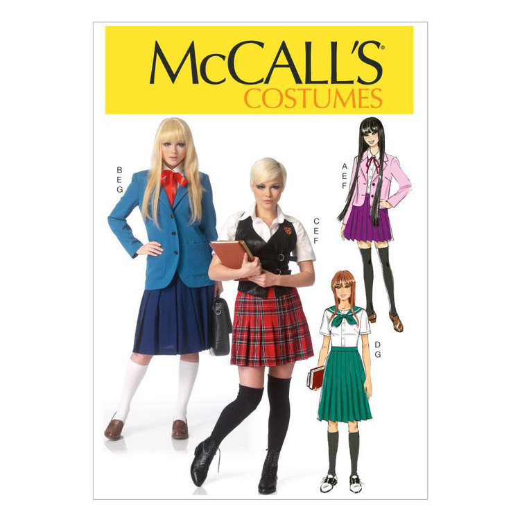 McCall's Pattern M7141 Misses' Costumes