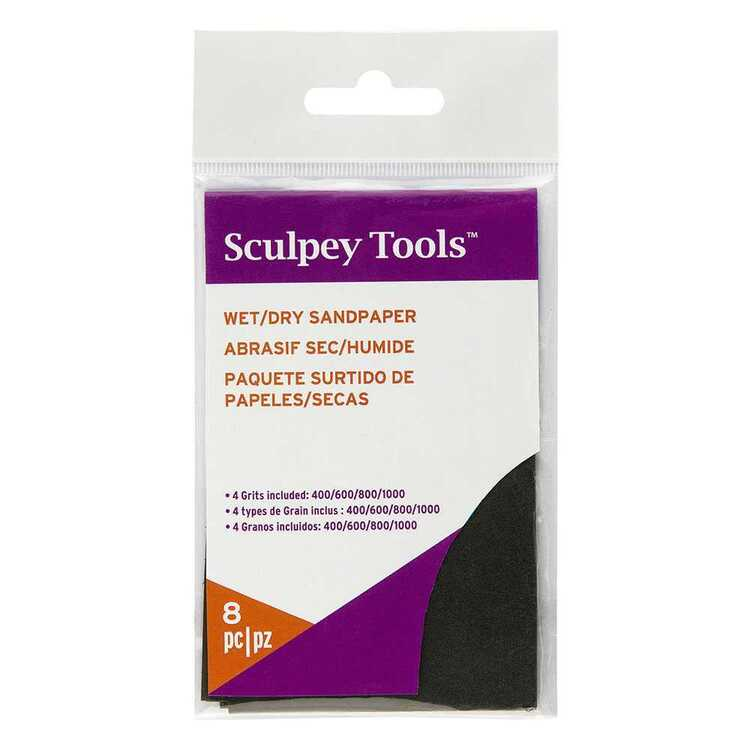 Sculpey Wet & Dry Sandpaper