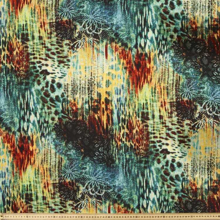 Jungle Animal Printed Fabric