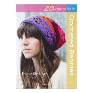 Twenty To Make Crocheted Beanies Book