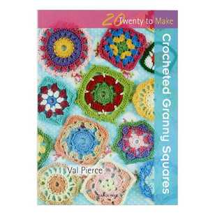 Twenty To Make Crocheted Granny Squares Book